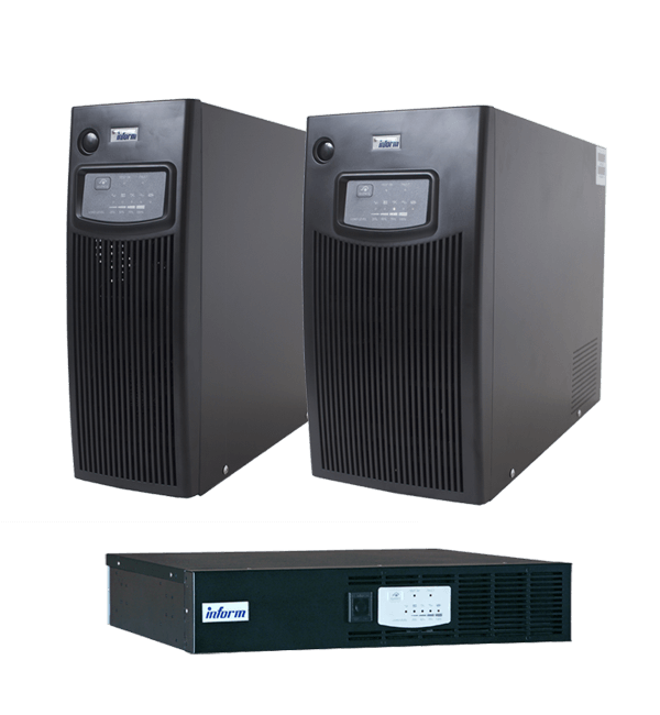 Sinus Series (Tower&Rack) 1kVA to 3kVA